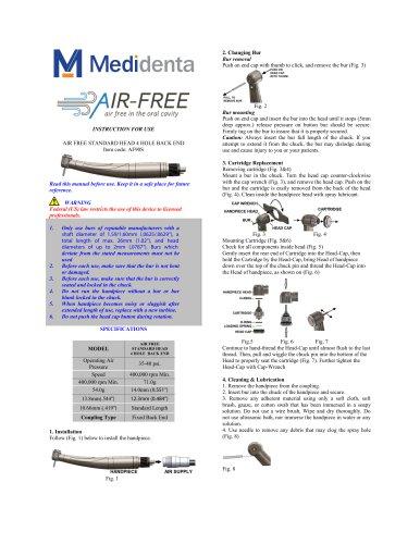 Air Free 90 Ortho – Standard Head