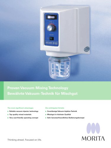 Proven Vacuum Mixing Technology