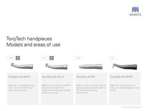 TorqTech handpieces
