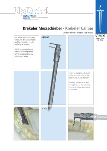 Krekeler Caliper for Implantology