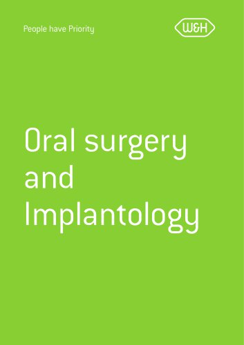 Collection brochure Oral surgery & Implantology
