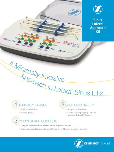 sinus lateral approach kit