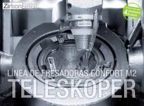 Inserto Línea de fresadoras confort M2 Teleskoper