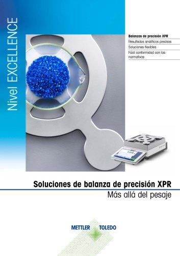 Balanzas de precisión XPR