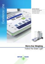 Brochure: Analytical Balances - Excellence Line Brochure: Analytical Balances - Excellence Line
