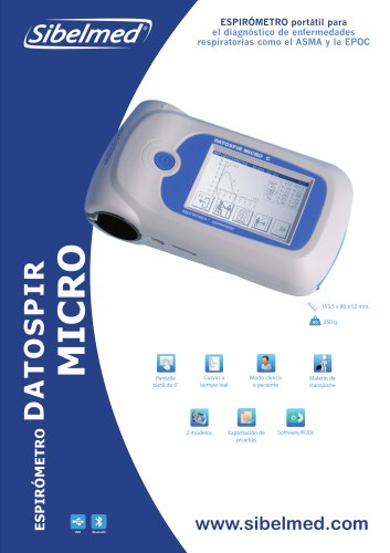 Espirómetro DATOSPIR MICRO