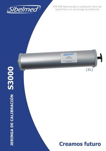 Jeringa de calibración S3000