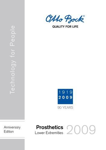 Catalogue | Prosthetics ? Lower Extremities
