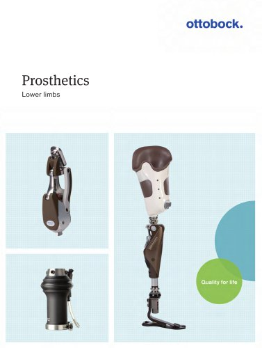 Prosthetics Lower limbs
