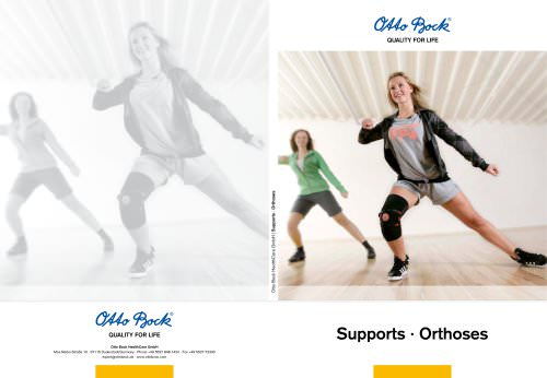 Supports · Orthoses