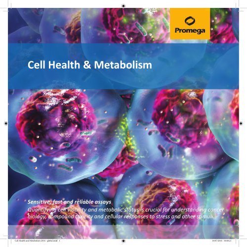 Cell Health Metabolism