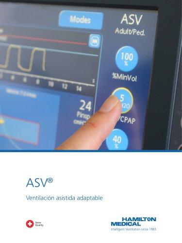 ASV Ventilación asistida adaptable folleto