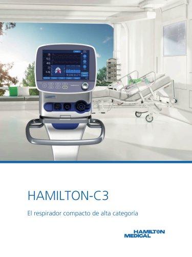 HAMILTON-C3 folleto
