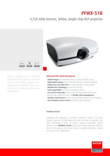 Projectors PFWX-51B