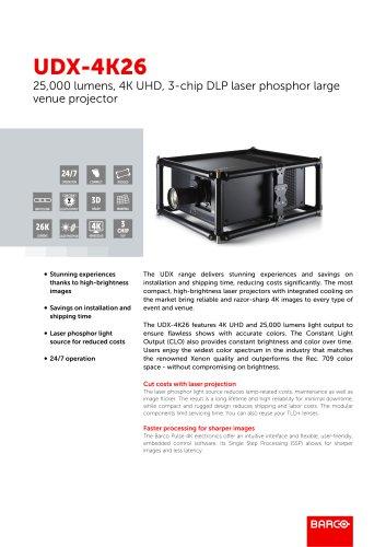 UDX-4K26