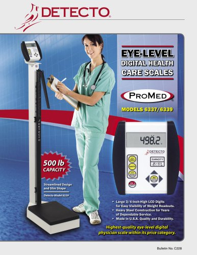 6337/6339 Physician Scales Bulletin
