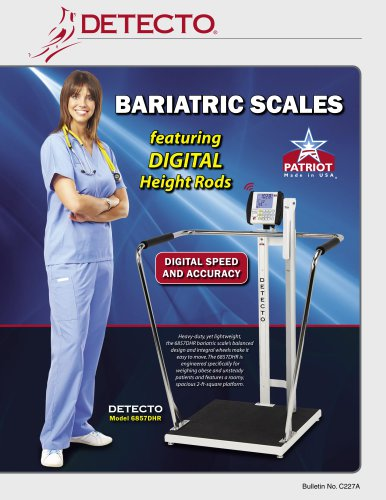 6857 6854DHR Bariatric Scale Bulletin