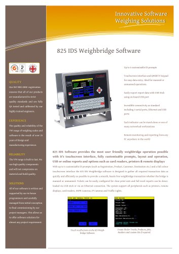 825 Weighbridge App