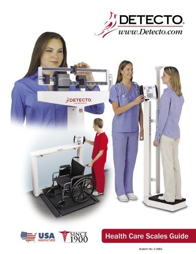 Detecto Health Care Products Guide