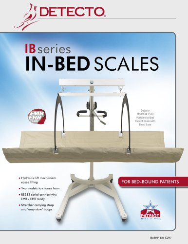 IBFL500 IB800 In-Bed Scale Bulletin