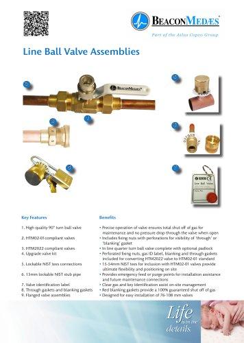 Line Ball Valve Assemblies HTM/ISO Brochure