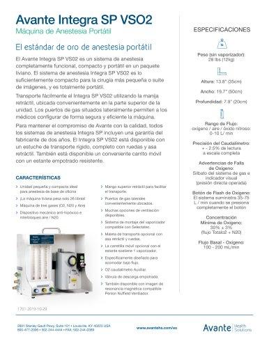 Avante Integra SP VSO2