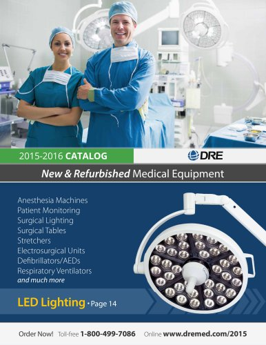 DRE 2015-2016 Catalog