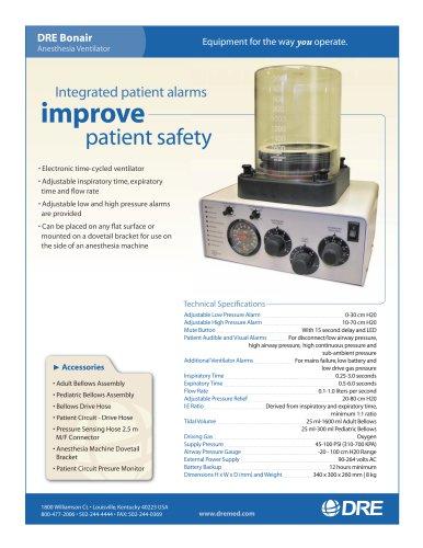 DRE Bonair Anesthesia Ventilator