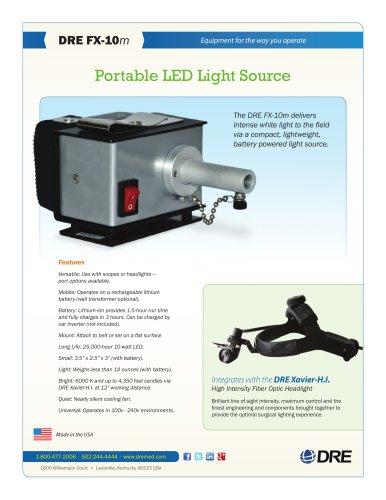 DRE FX-10m Portable LED Light Source