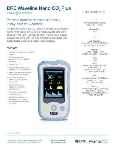 DRE Waveline Nano CO2 Plus