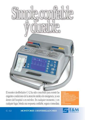 Catálogo MONITOR DESFIBRILADOR C-12