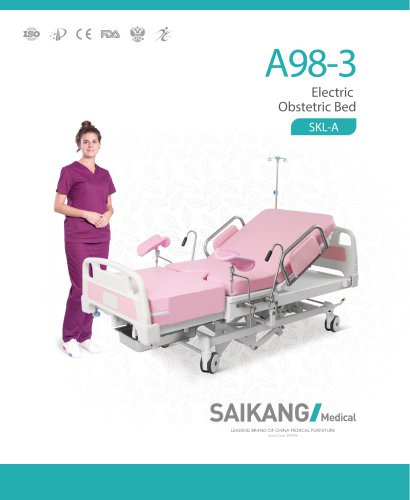 A98-3 Electric-Obstetric-Bed_SaikangMedical