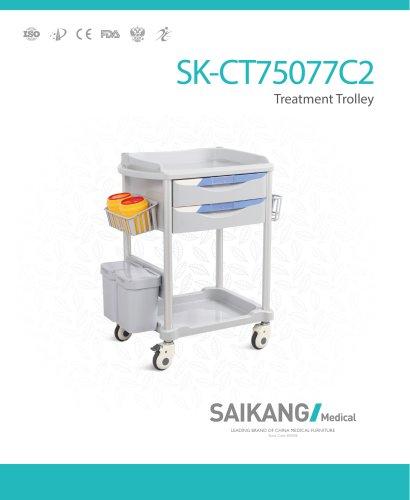 SK-CT75077C2 Treatment-Trolley_SaikangMedical