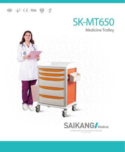 SK-MT650 Medicine-Trolley_SaikangMedical