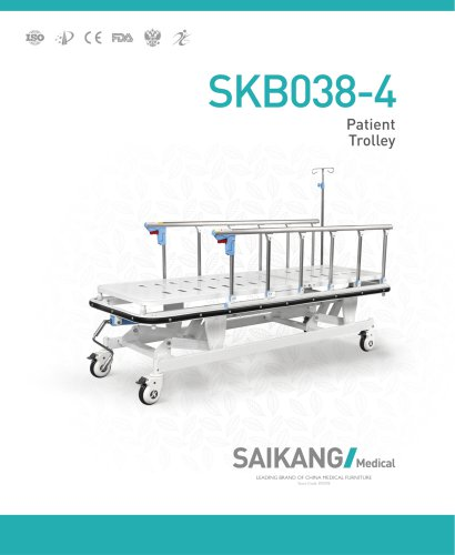 SKB038-4 Patient-Trolley_SaikangMedical