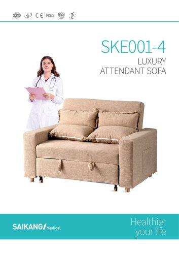 SKE001-4 Luxury-Attendant-Sofa_SaikangMedical