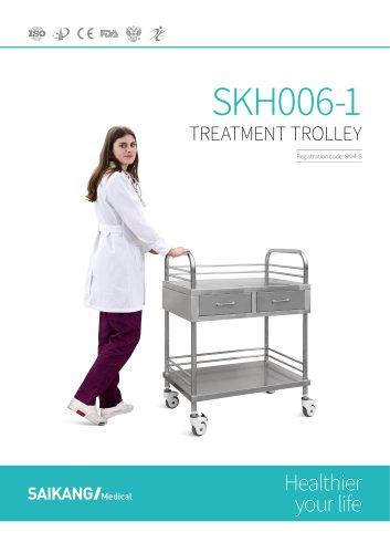 SKH006-1 Treatment-Trolley_SaikangMedical