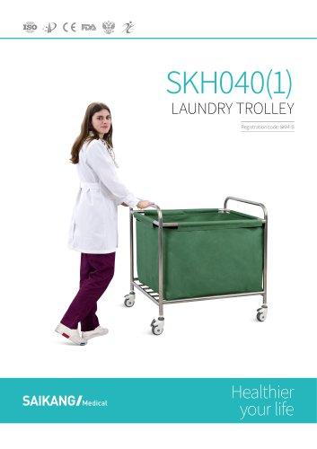 SKH040-1 Laundry-Trolley_SaikangMedical