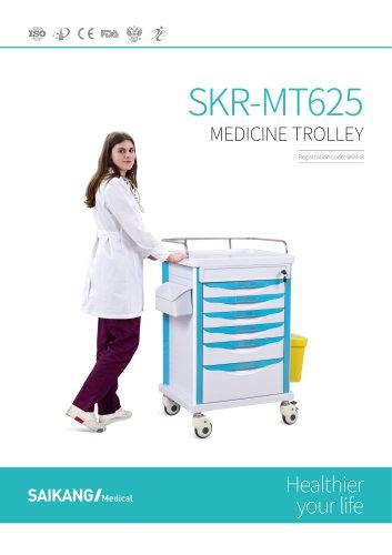 SKR-MT625 Medicine-Trolley_SaikangMedical