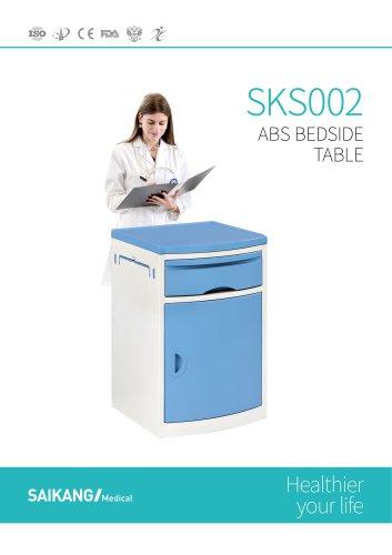 SKS002 ABS-Bedside-Table_SaikangMedical