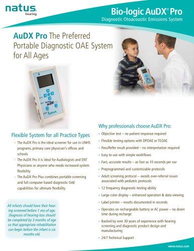 Bio-logic AuDX Pro