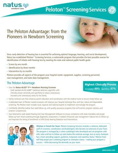 Peloton ™ Screening Services