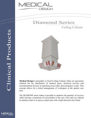 Diamond Series Ceiling Column