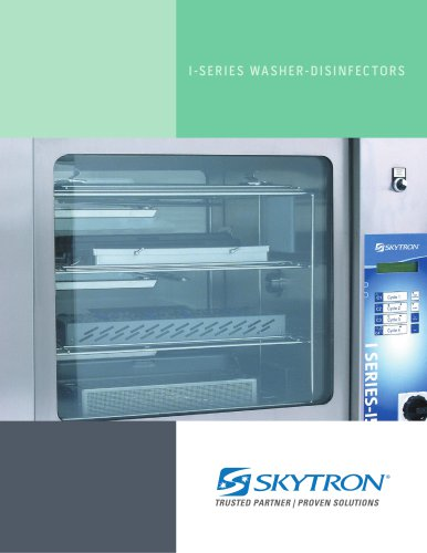 I-SERIES WASHER-DISINFECTORS