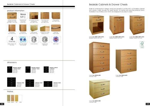 Bedside Cabinets 2