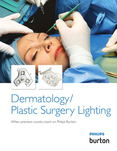 Dermatology/ Plastic Surgery Lighting