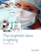 Medical lighting catalog