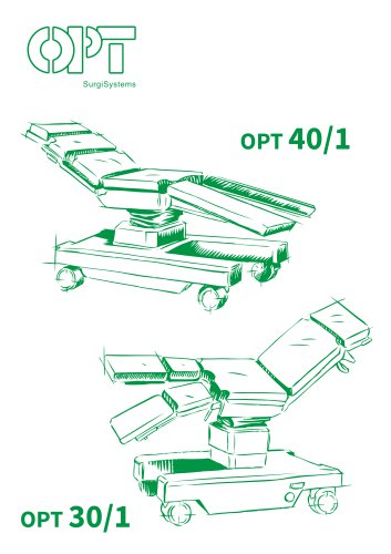 OPT 40/1 - Mobile Operating Table