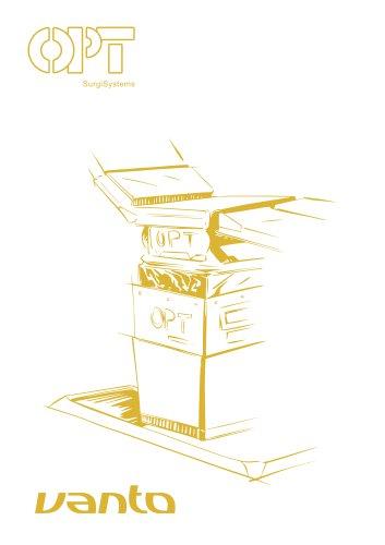 VANTO - mesa de operaciones con tableros intercambiables