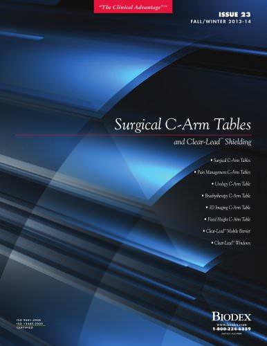 C-Arm Tables Brochure